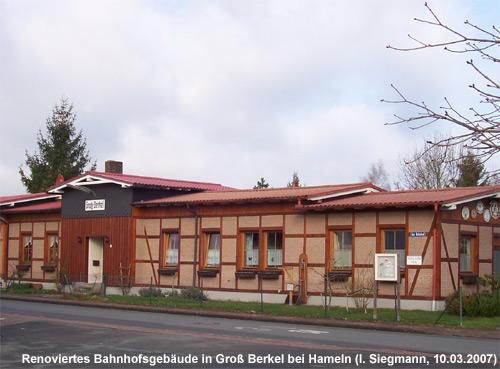 ehemaliger Bahnhof Groß Berkel