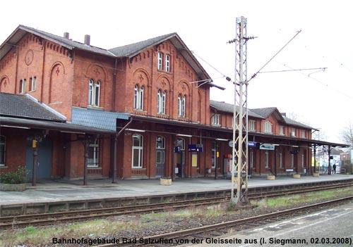 Empfangsgebäude Bahnhof Bad Salzuflen