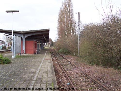 Gleis 3 in Bad Salzuflen