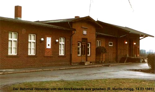 Bahnhof Hörstmar