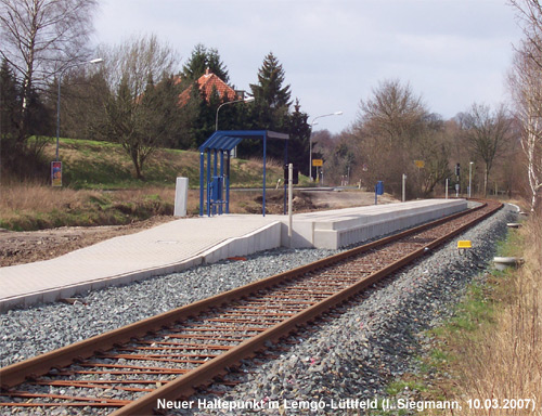 Haltepunkt Lemgo-Lüttfeld